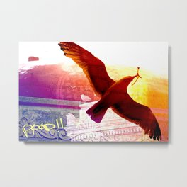 City Birds 01 Metal Print