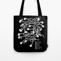pocket Tote Bags featuring Sailor's Pocket by Tobe Fonseca
