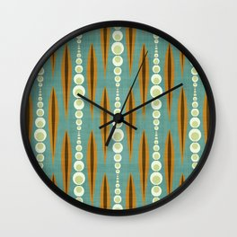 MCM Dots & Shards Wall Clock
