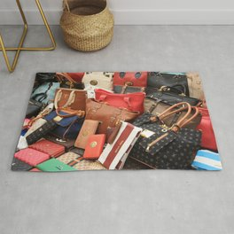 Women's Designer Handbags Rug