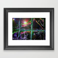 Window To The Stars Framed Art Print