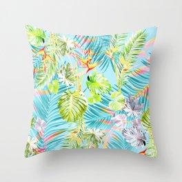 Bermuda Blue Skies Throw Pillow