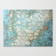 Corroded Beauty Canvas Print