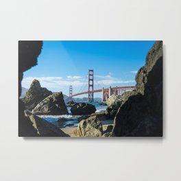 Golden Gate Bridge from Baker Beach Metal Print
