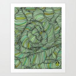 cocoons Art Print