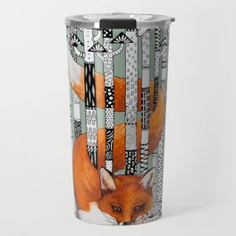 Fox Forest Travel Mug
