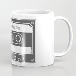 Mixtape of My Most Recent Cry Coffee Mug
