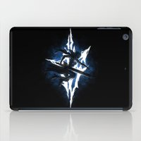 returns iPad Cases featuring Lightning Returns by Six Eyed Monster