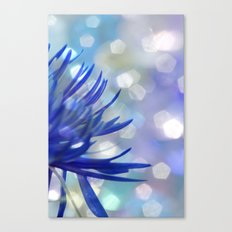 Happiness in Blue Canvas Print