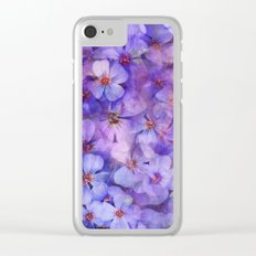 Spring is in the Air 7 Clear iPhone Case
