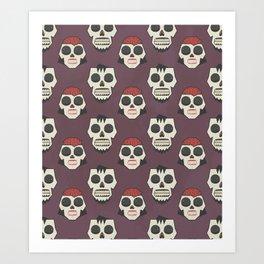 Till Death Do Us Part? (Patterns Please) Art Print