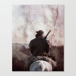 Destiny Is All - Uhtred The Last Kingodm Canvas Print