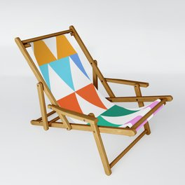 Triangles of Color Sling Chair