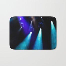 Blue Lights Bath Mat