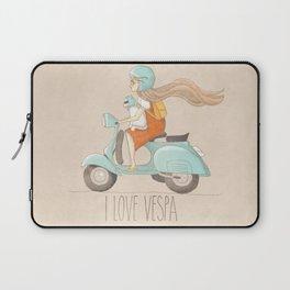 I love Vespa Laptop Sleeve