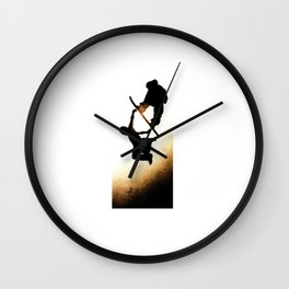 Free Fall I Wall Clock