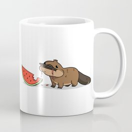 Melon Platypus Coffee Mug