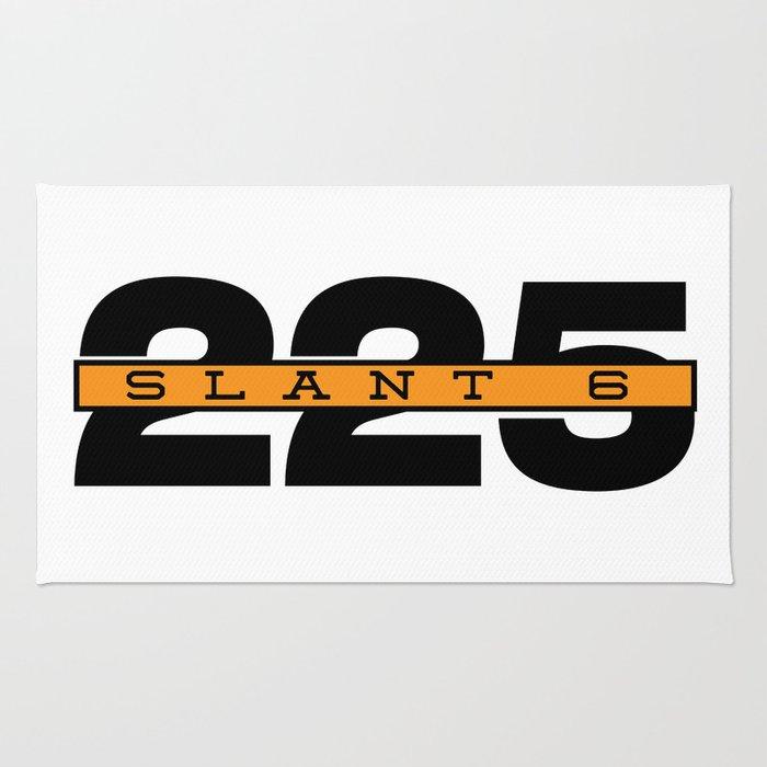 225 Slant Six Badge Rug