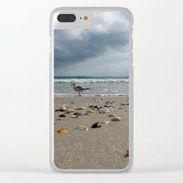 Seagull Crossing, Hutchinson Island, Florida Clear iPhone Case