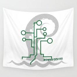 Data Kraken Wall Tapestry