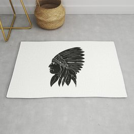 Indian Chief / Black Edition Rug