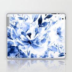 Blue Blomm Laptop & iPad Skin