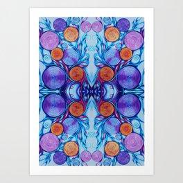 My Cymatic Perception 2 Art Print