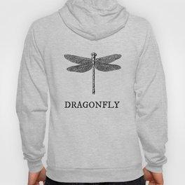 Dragonfly Vintage Illustration Hoody