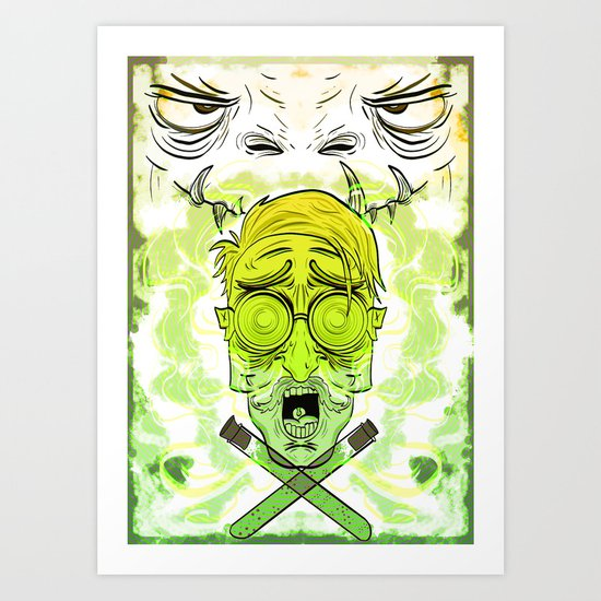 Dr Jekyll and Mr Hyde Art Print