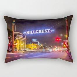 Hillcrest (San Diego) Sign - SD Signs Series #3 Rectangular Pillow