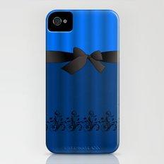 Blue Chiffon Dress Slim Case iPhone (4, 4s)