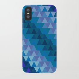 Digital Waves iPhone Case