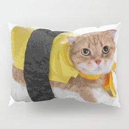 Sushi cat Pillow Sham