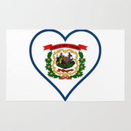 Love West Virginia Rug