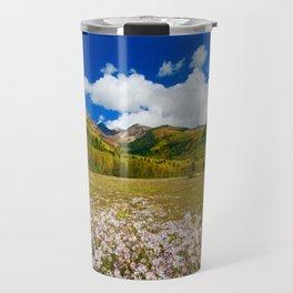 Utah Spring Landscape Travel Mug