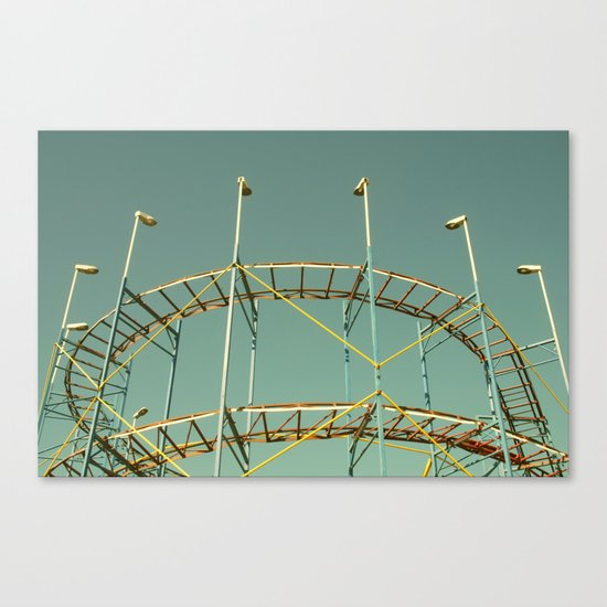 rollercoaster Canvas Print
