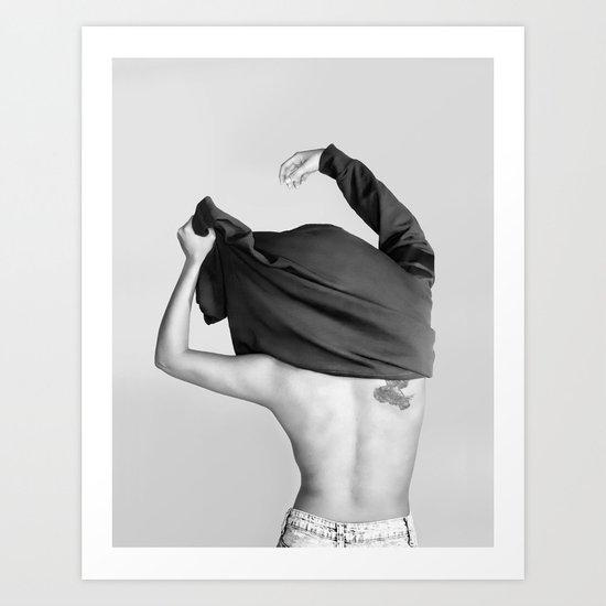 Change Clothes Art Print