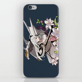 Lady and Dragon iPhone Skin