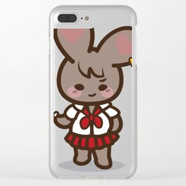 Bad Bunny Girl Lifestyle(2) Clear iPhone Case