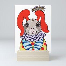 Royal Rabbit Mini Art Print