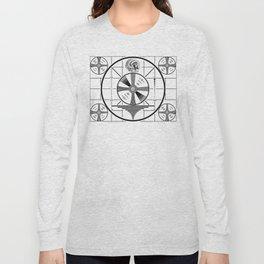Indian-Head Test Pattern Long Sleeve T-shirt