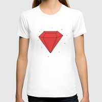 ruby T-shirts featuring Ruby  by Normandie Illustration
