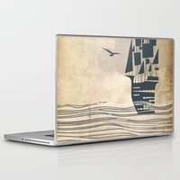ship Laptop & iPad Skins featuring Ship by Emily Rose Scott