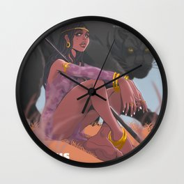 Princess KaHina Wall Clock