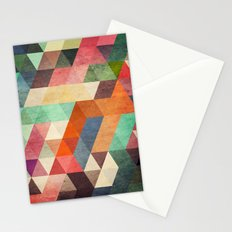 Low polygon 3 Stationery Cards