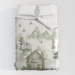 Living Off The Grid Comforters