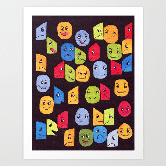 a 6 Art Print
