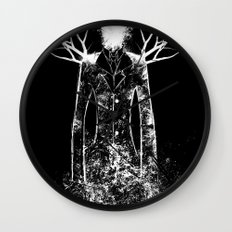 The Slenderman Wall Clock