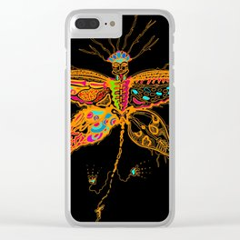 Butterfly Spirit Clear iPhone Case