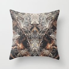 Fantasy Forest Floor  Throw Pillow